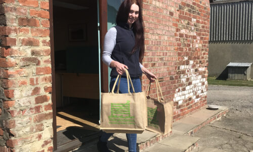 Vicky Anderson, work bags, custom made for Local Businesses