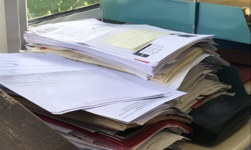 paperwork getting on top of you?