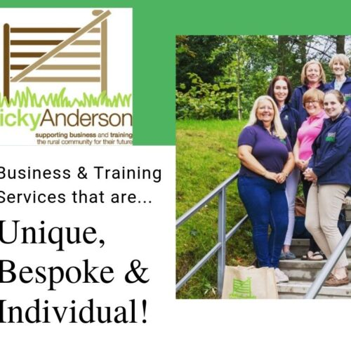 Unique, bespoke and individual business Services from Vicky Anderson